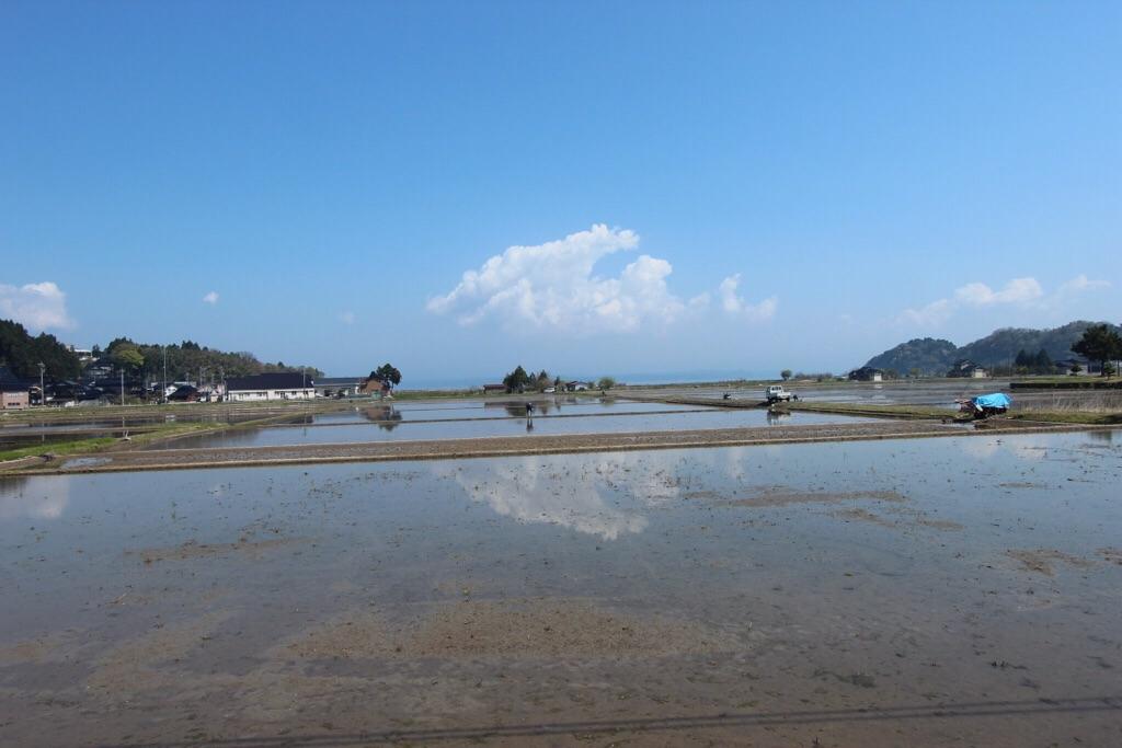 【日本一周】能登島を満喫!ひたすら田園地帯が広がる光景。田舎って素晴らしい。