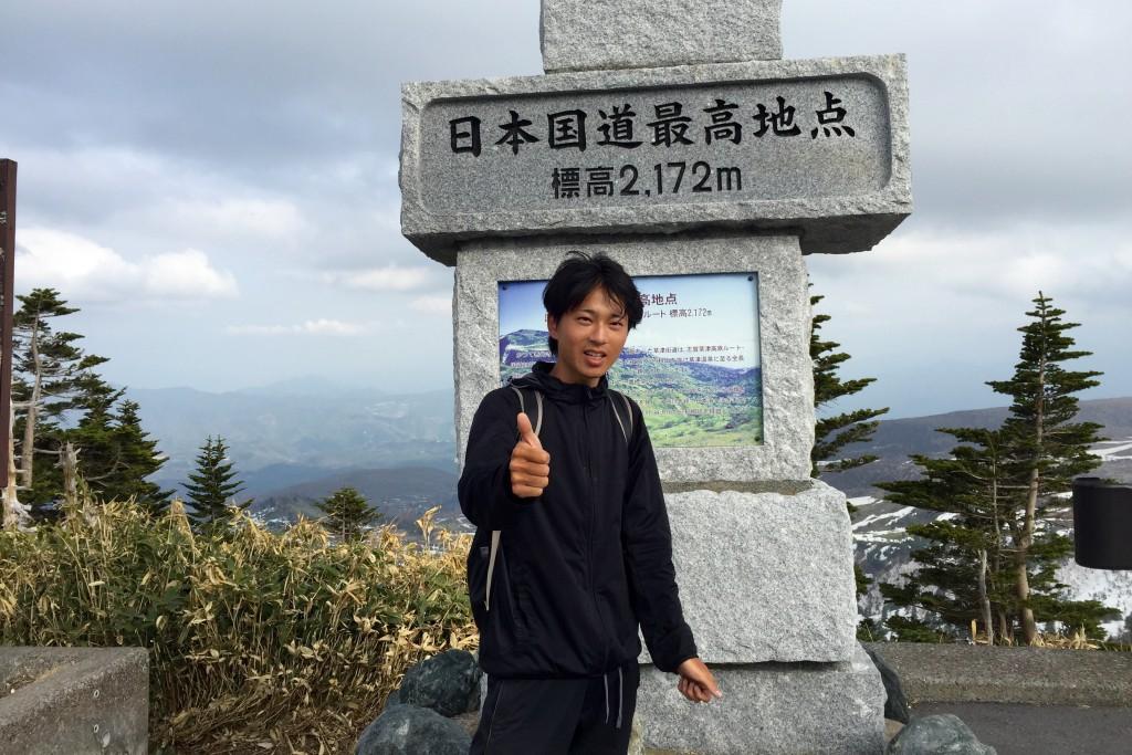 日本国道最高地点・標高2,172m「渋峠」を自転車で突破!【日本一周】