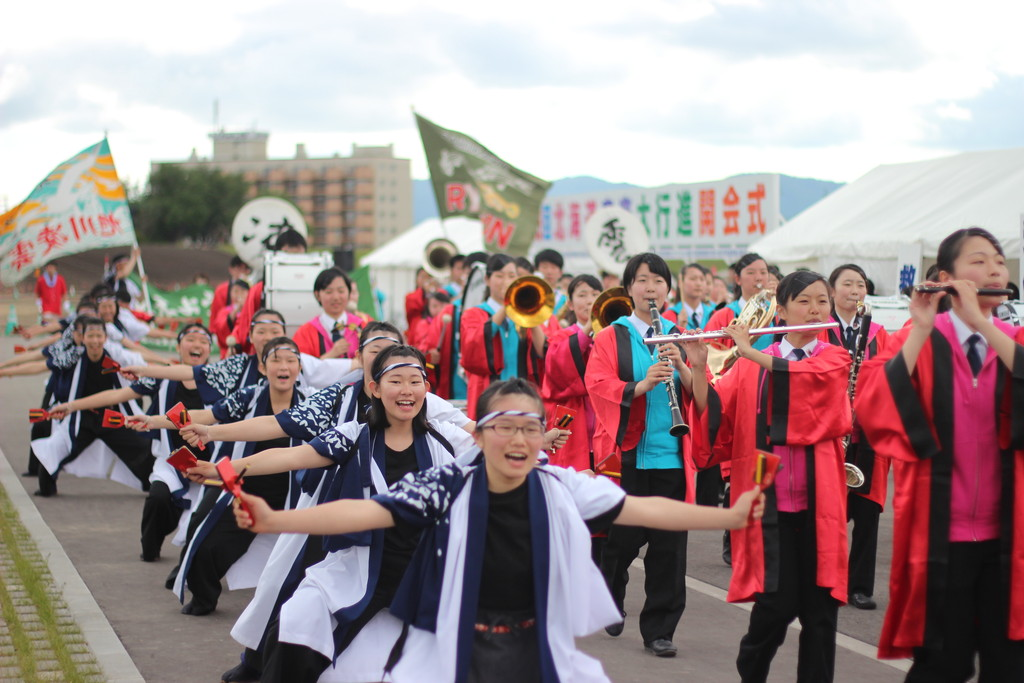 【日本一周】北海道内大演奏イベント「北海道音楽大行進」に参加してきたよ!