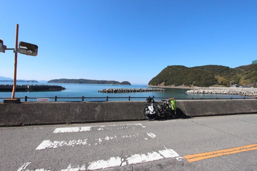 【日本一周】人生初!和歌山県に突入。瀬戸内海のオーシャンビューが美しい。【泉南市〜和歌山市】