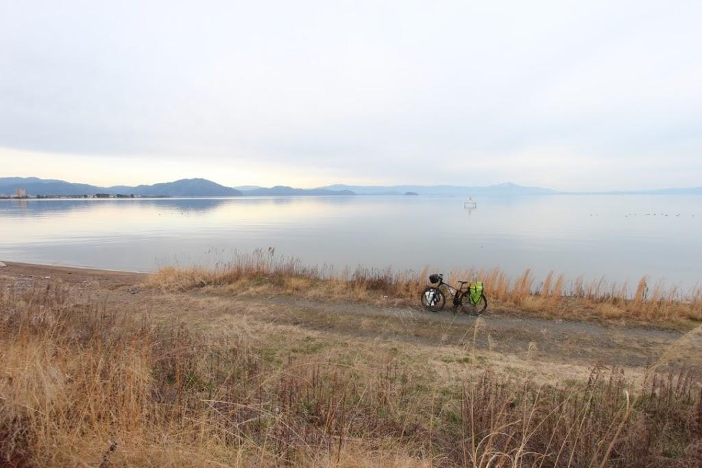【日本一周】ようやく琵琶湖一周達成!?近江の厳島「白鬚神社」に再訪。【長浜市〜大津市】