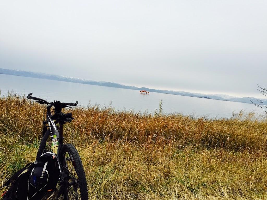 琵琶湖一周を自転車で行ったことが、日本一周の旅に出発する「キッカケ」となった。