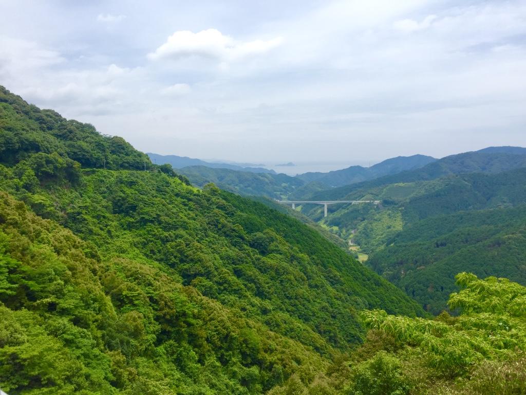【四国遍路27日目】標高287m「七子峠」を越え、須崎市へ【四万十町〜須崎市】