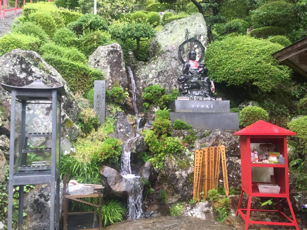 【四国遍路34日目】標高450m・土佐の名水を味わえる「神峰寺」【第27番札所】