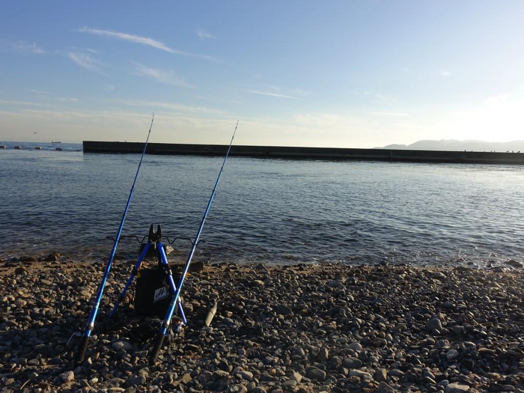 【アジュール舞子】ちょい投げ釣りでカレイ・カワハギを狙う!