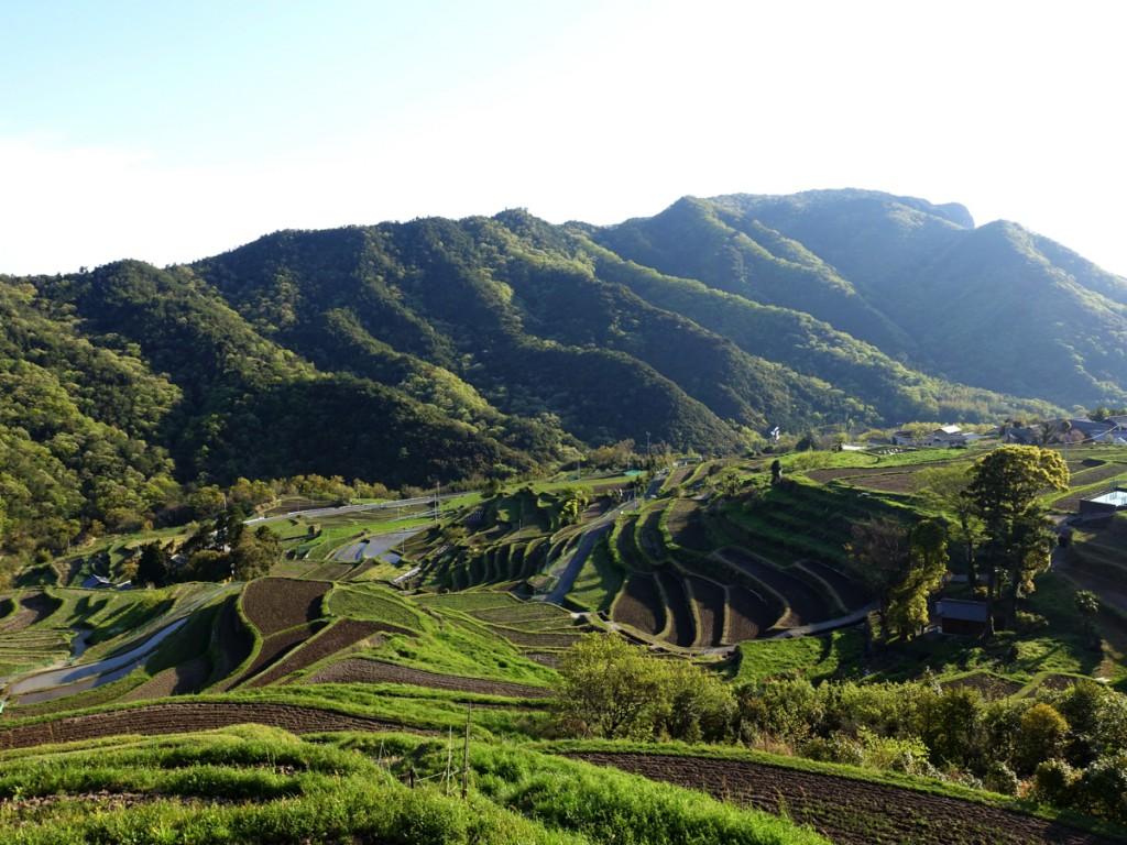小豆島歩き遍路の旅。名水百選を活かした、絶景の「中山千枚田」へ!【遍路旅4日目】