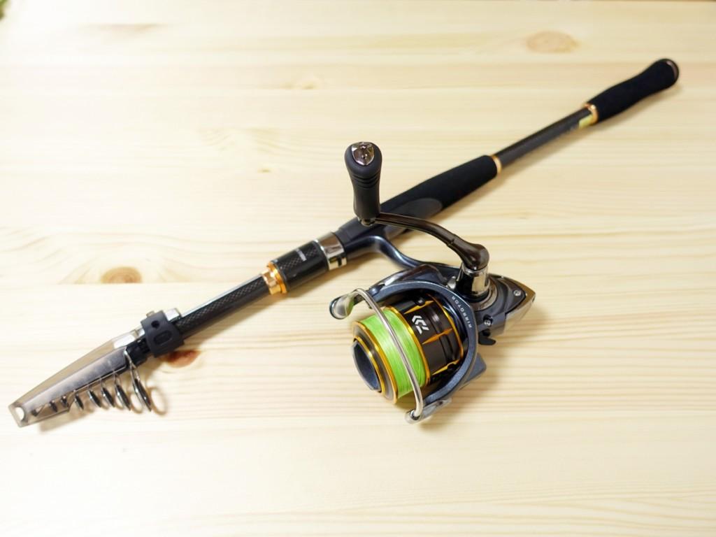 出張先や旅行先で釣りができる!「ダイワ モバイルパック806TMS」のインプレ・レビュー