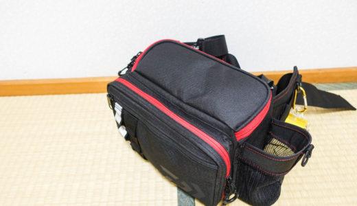 【メバリング・アジング】釣り場でランガンしやすいウエストバッグを紹介