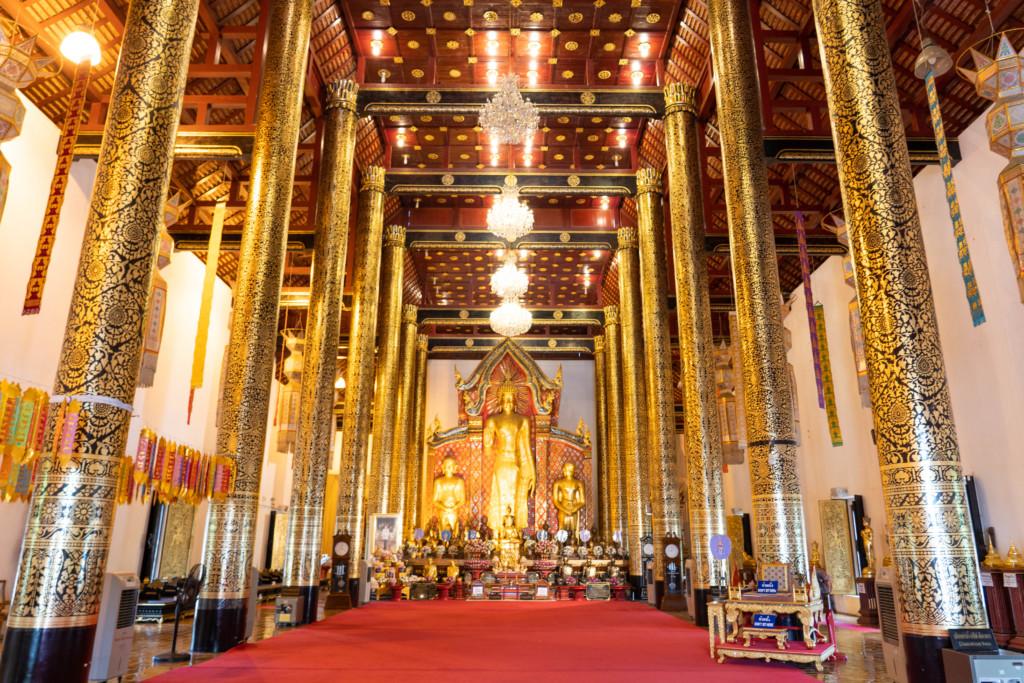 【お寺めぐり】チェンマイ旧市街周辺の「7大仏教寺院」を1日で全部観光してみた!