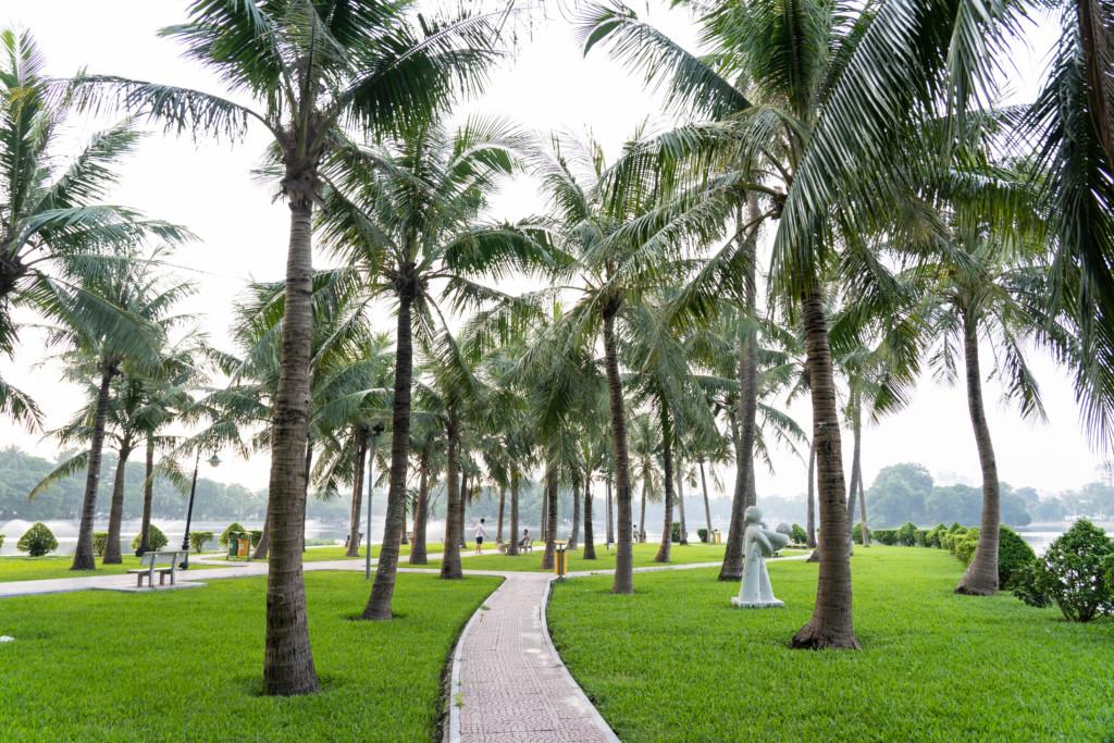 ベトナム・ハノイの巨大有料公園「トンニャット公園」で癒やされてきた【アクセス・入場料・所要時間】