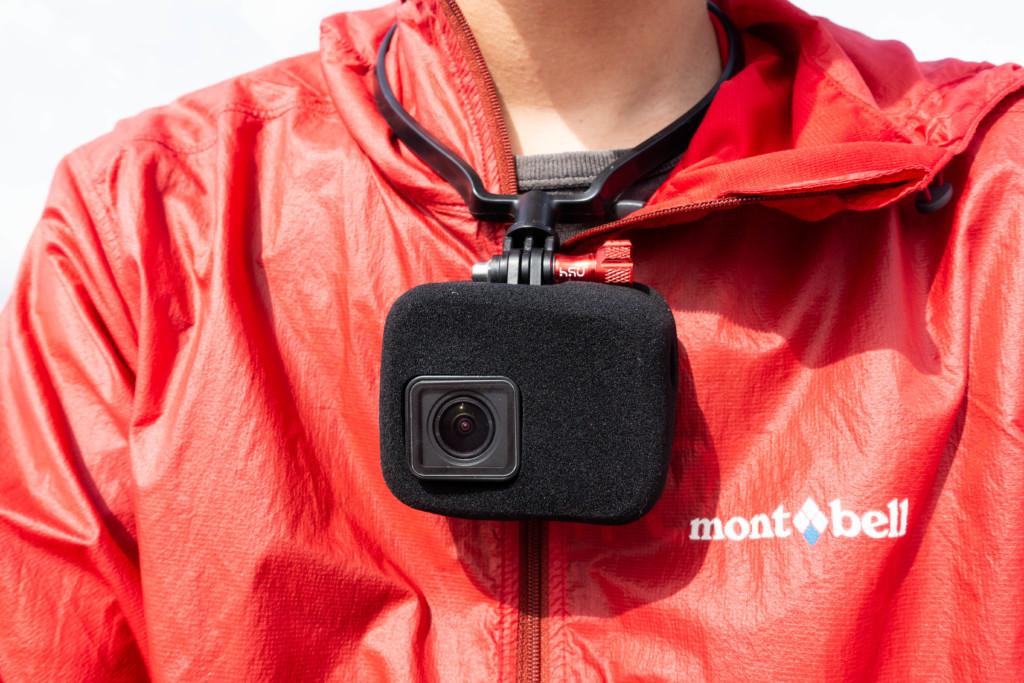 GoPro HERO7に風防(ウインドスレイヤー)を取り付けたら音質が大幅アップ!アウトドア撮影には必須かも。