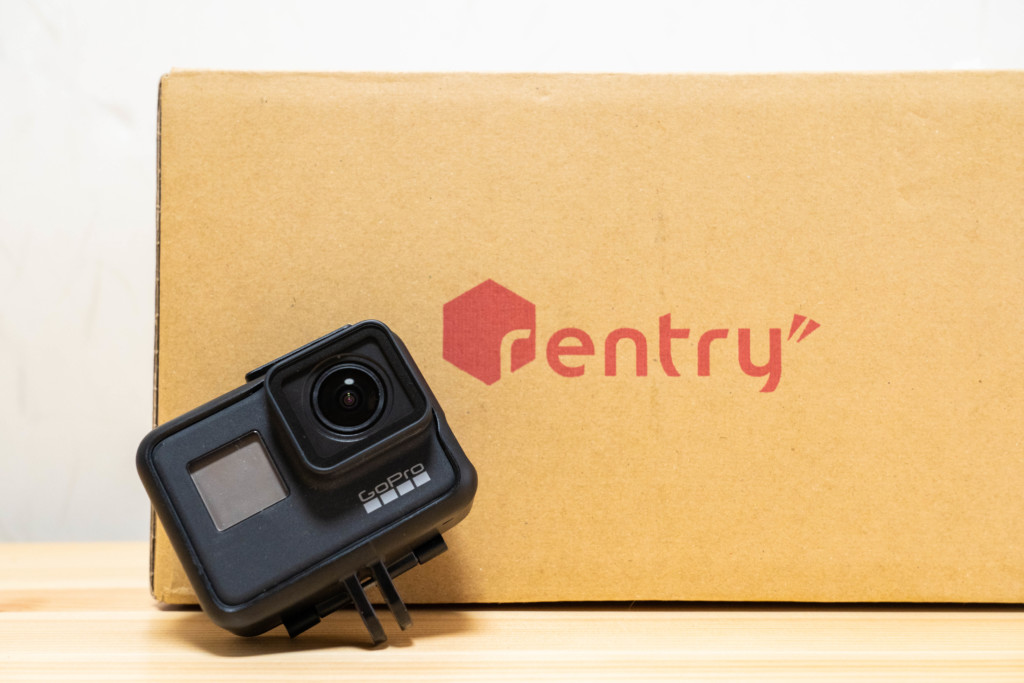 【格安】家電・カメラのレンタルショップ「Rentry(レントリー)」でGoProレンタルを使ってみた!実際に使ってみたレビュー