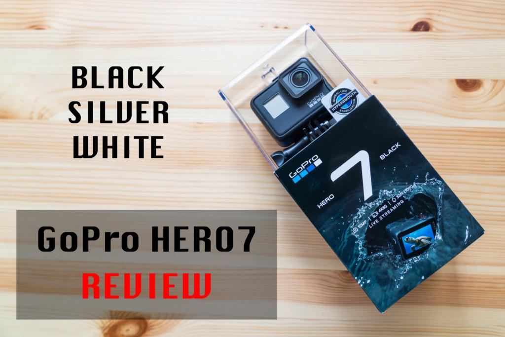 【2019年最新モデル】GoPro HERO7を徹底比較レビュー!新機能・価格・使用感を調査