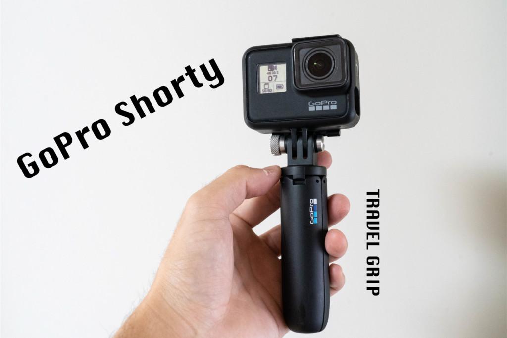 GoProの純正ミニ三脚「Shorty(ショーティ)」の使用レビュー!想像以上に取り回しが良くて便利だぞ!
