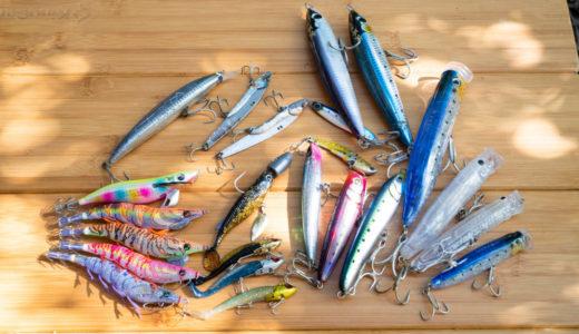 【魚種限定解除】絶対に魚を釣りたい時に大活躍する最強ルアー11選【ソルトルアー】
